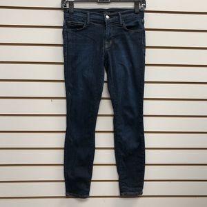 J Brand Skinny Crop Jeans 25